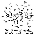 Tired of Snow Storms